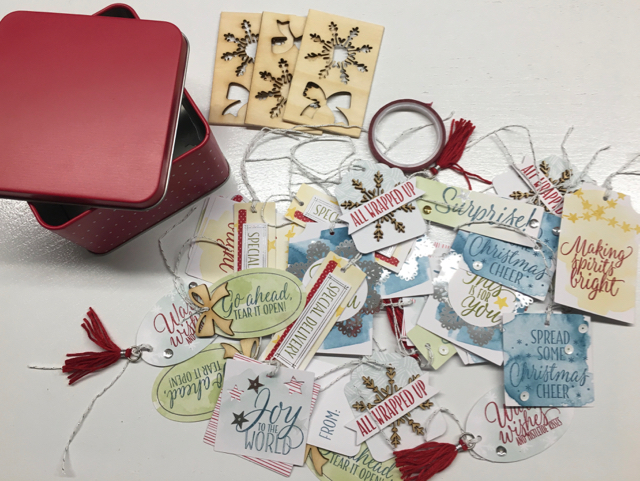 Tin of Tags Project Kit ,142011
