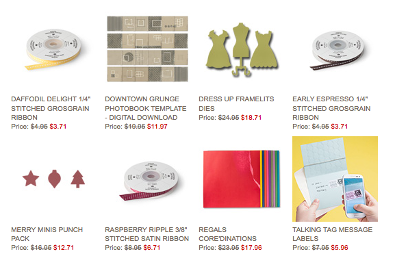 Check out the Deals of the Week here: http://www.blythestamps.stampinup.net