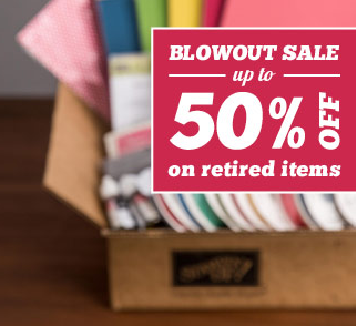 Blow Out Sale - May 22 to June 4