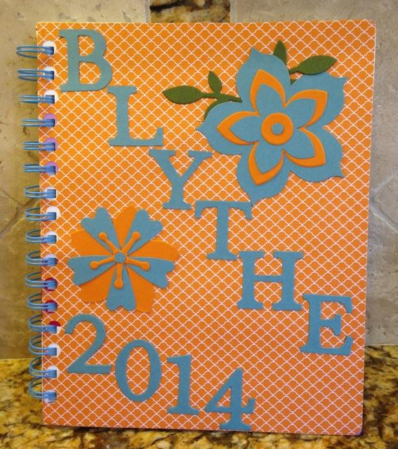 Blythe's notebook