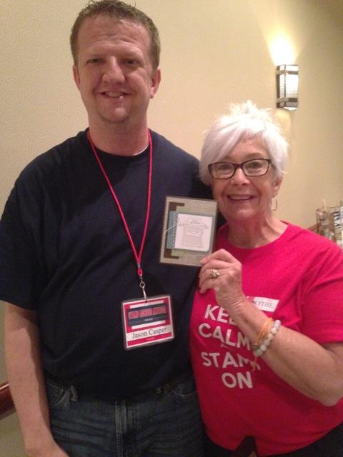 Jason Caspar and Blythe & Jason's card