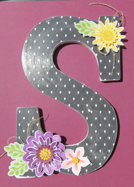 S is for Sue