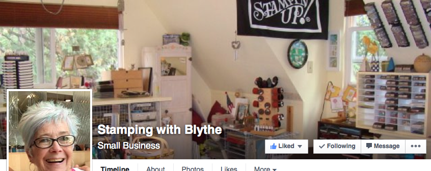Stamping with Blythe FB page