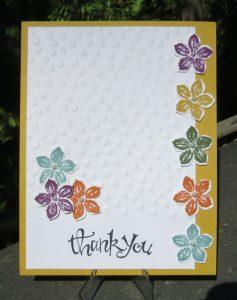 Becky's Card ..... Petite Petals