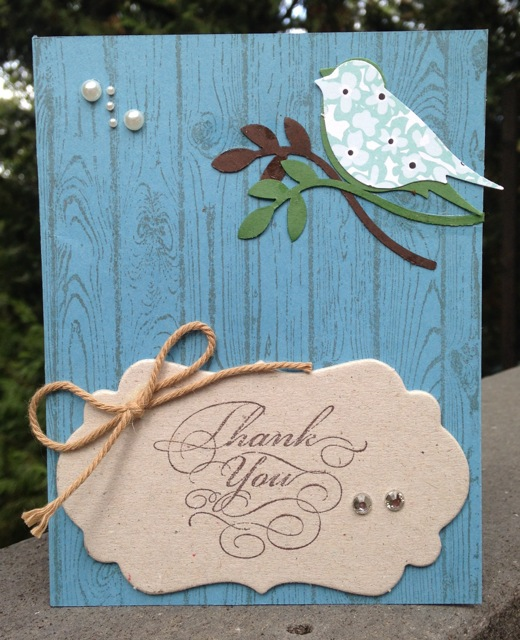 Manda's card