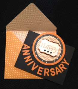 Giant's Anniversary card