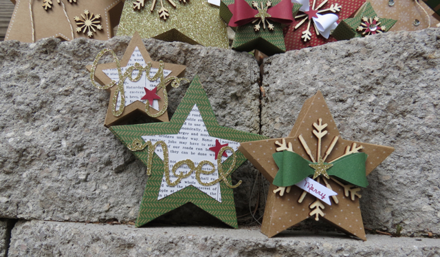 Close up #2 from Many Merry Stars Simply Created Kit, 138104