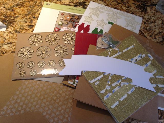 Many Merry Stars Simply Created Kit (#138104 $25.95)