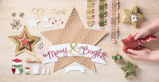 Many Merry Stars Simply Created Kit, 138104