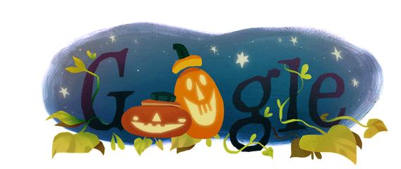 Google Halloween greeting