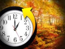 Daylight Savings time ends at 2 a.m. Sunday