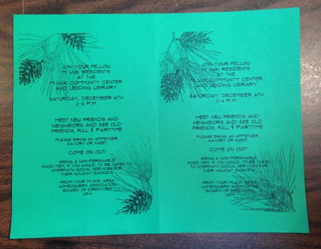 Final MAHA green invite