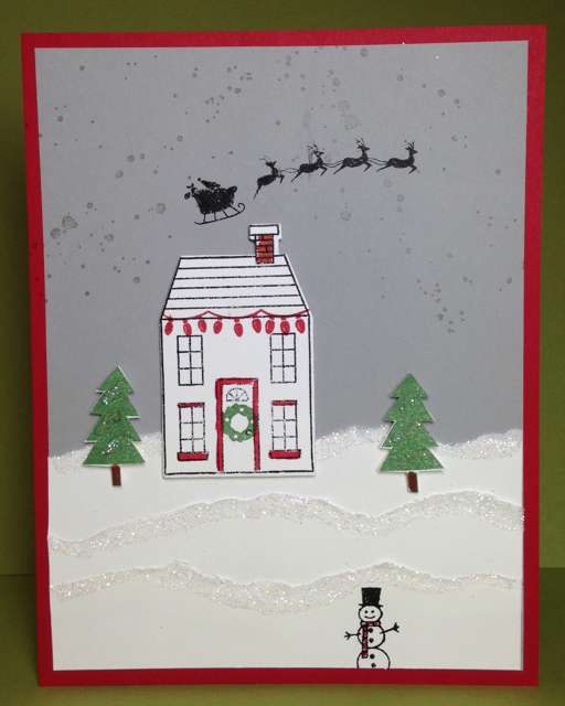 Holiday Home (135095) winter scene cardd