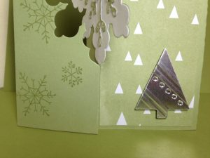 Snowflake Card Thinlits Die Card, 135855, $32.95