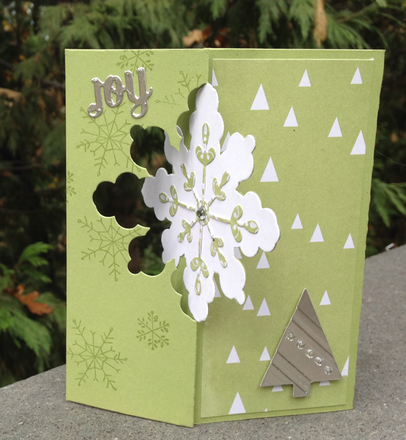 Snowflake Card Thinlits Die Card, 135855, $32.95