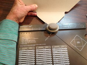 Envelope Punch Board in action, 133774