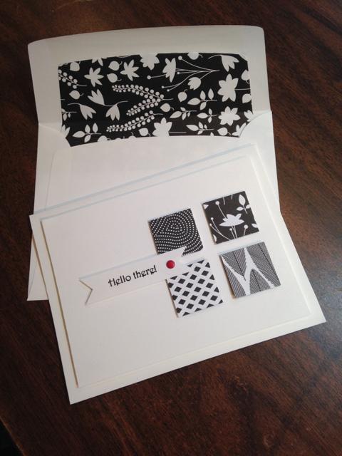 Card + Lined Envelope
