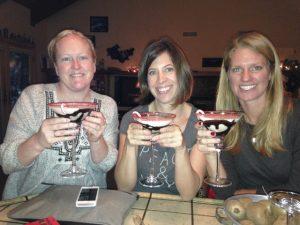 Christy, Andrea, Jen