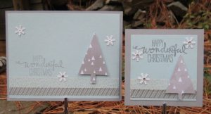 Side by side: card and mini 'card'
