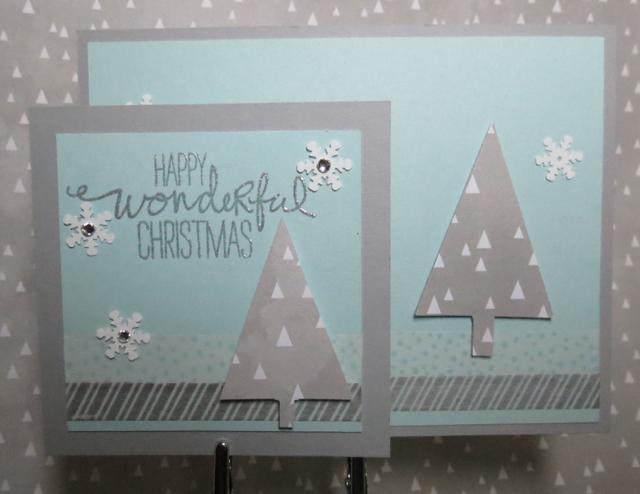 "Holly's 3-1/2"" x 3-1/2"" card"