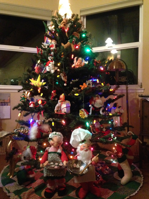 Our Annalee Christmas Tree 2014