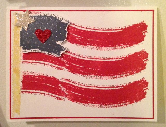 Work of Art American Flag
