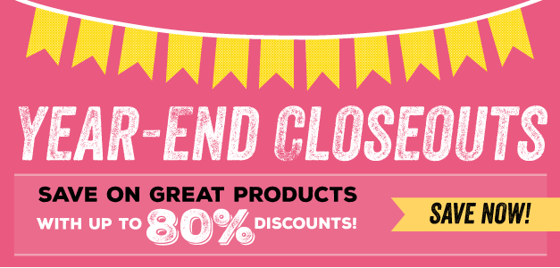 YEARNED CLOSEOUTS ON CLEARANCE RACK