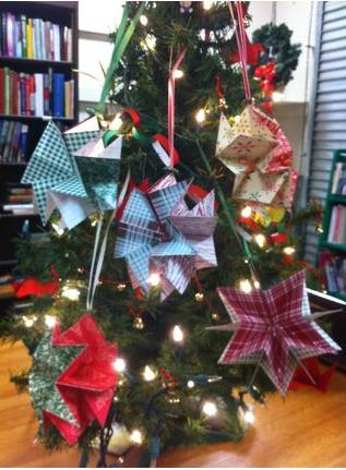 Designer Series Paper star ornament