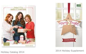 2014 Holiday Catalogs