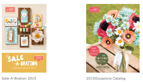 2015 Occasions Catalog and Sale-a-Bration brocure