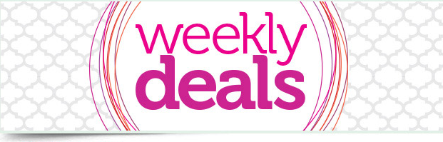 WEEKLY DEALS - April 14-20, 2015