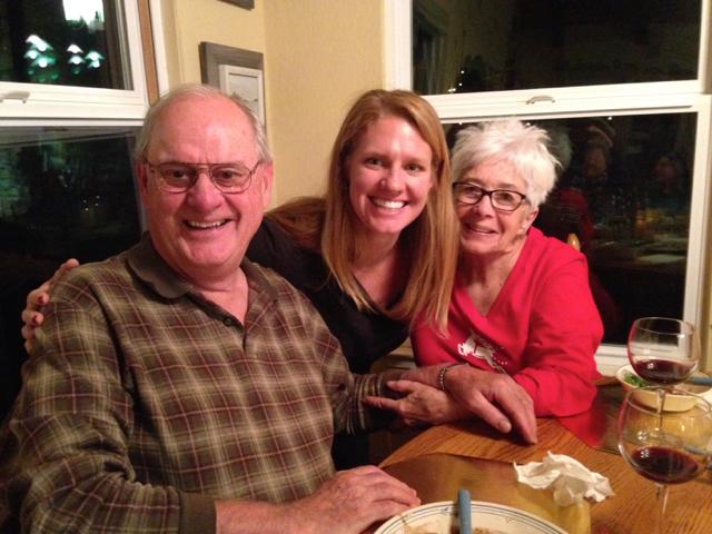 Russ, Blythe and photo bomber Jen