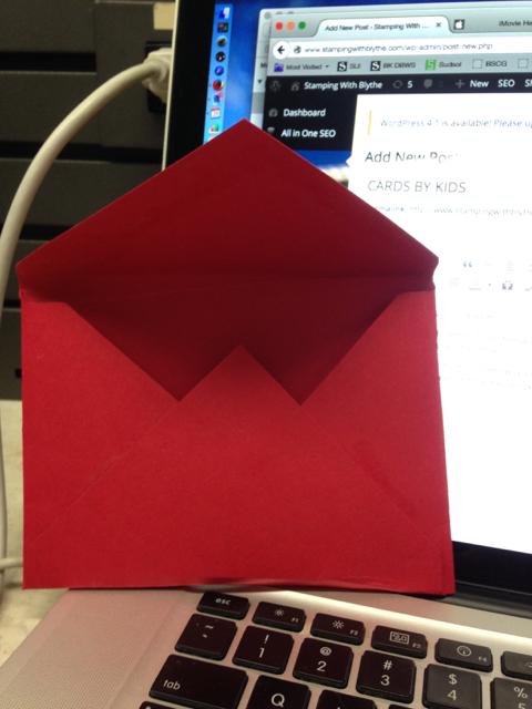 Real Red envelope, back