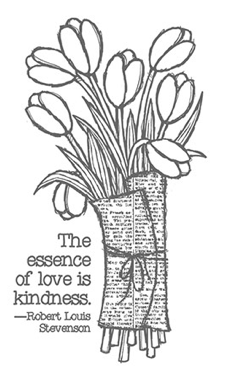 Love is Kindness, 137131, $8.95, wood mounted