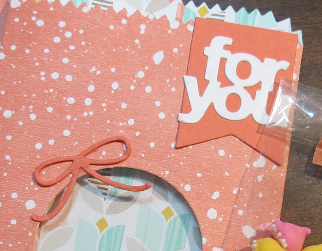 Mini Treat Bag Tag & Bow