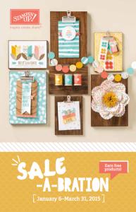 Sale-a-Bration brochure 2015