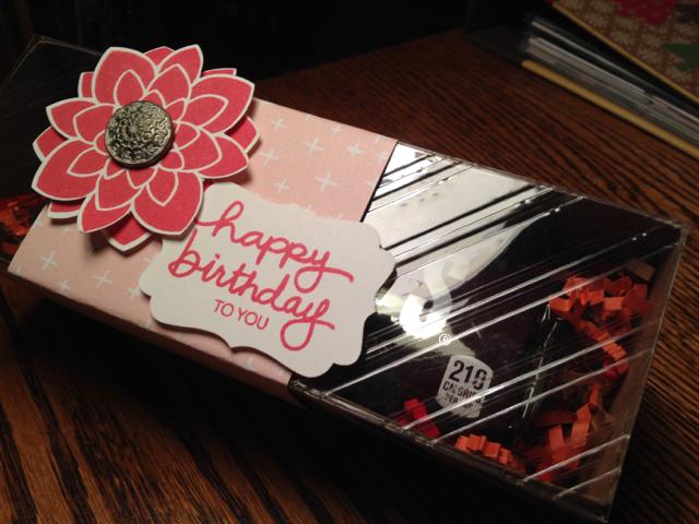 Tag a Bag Birthday Gift Box