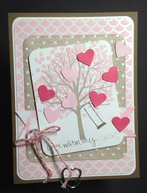 Sheltering Tree Crumb Cake/pink Valentine