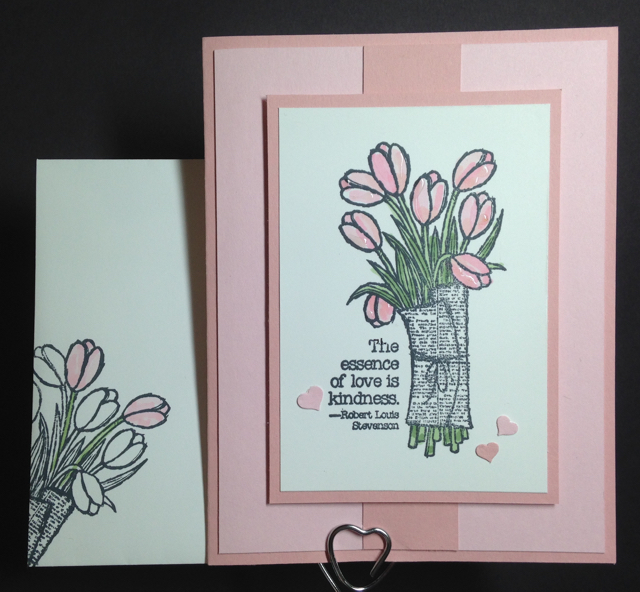 Love is Kindness Valentine card