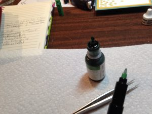 Tools needed for refilling a Stampin' Write Marker