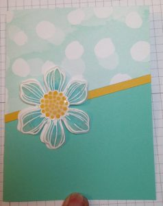 Stained Glass Technique Flower card