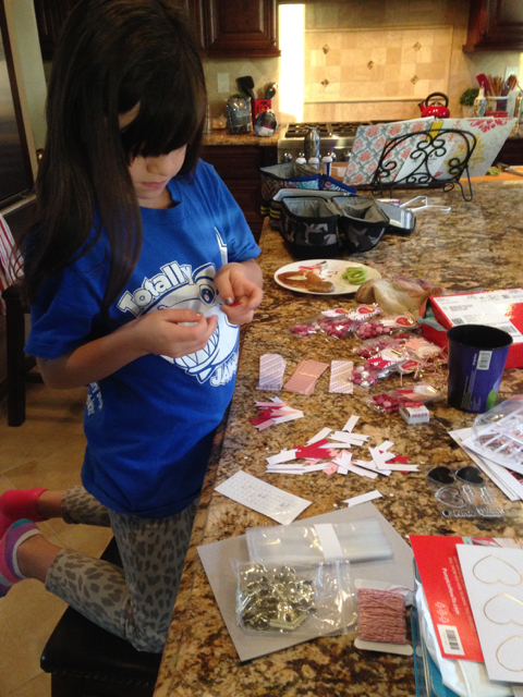 Breakfast crafting with Nora and Paper Pumpkin