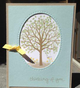 Spring scene Sheltering Tree, 137163