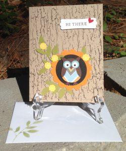 Owl Builder Punch Card, 118074, $16.95