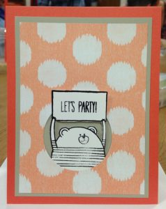 CHEERFUL CRITTERS, 137932, Photopolymer stamp set
