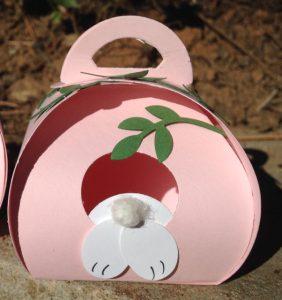 Close up of a Curcy Keepsakes Bunny Hut