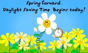 Spring Forward.........