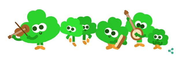 Google Doodle in motion, 2015