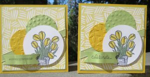 Spring Tulips, Love is Kindness stamp set, 137131, $9.95