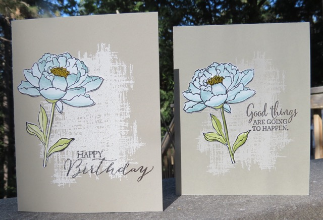 You've Got This cards, one embossed, one not